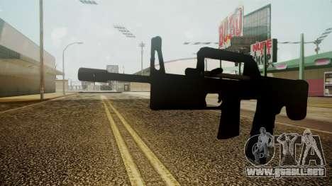 A-91 Battlefield 3 para GTA San Andreas segunda pantalla