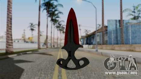 La sombra de la Daga Sangrienta telarañas para GTA San Andreas