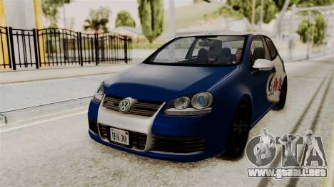 Volkswagen Golf R32 NFSMW05 Sonny PJ para GTA San Andreas vista hacia atrás