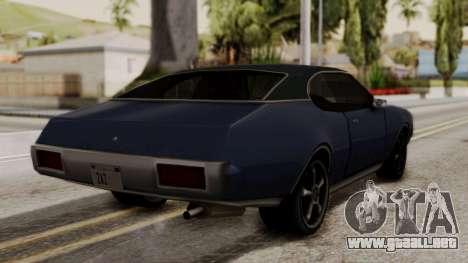 Clover Dub Edition para GTA San Andreas left