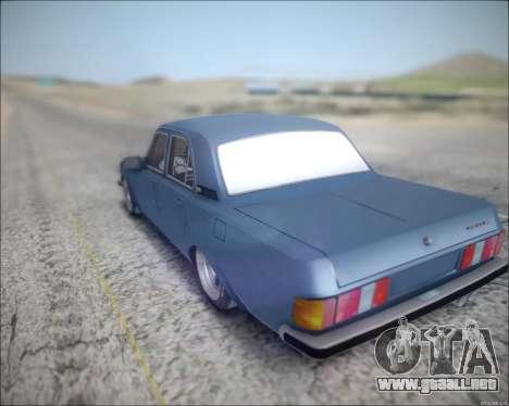 Volga 3102 para GTA San Andreas vista posterior izquierda