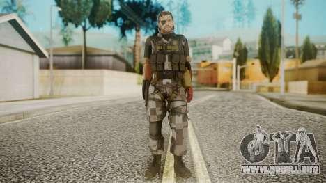 Venom Snake Square para GTA San Andreas segunda pantalla