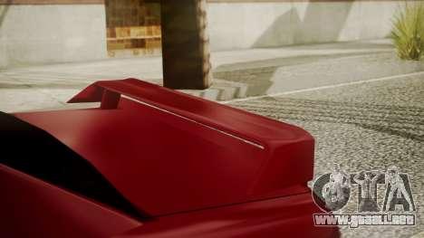Elegy NR32 with Neon para la visión correcta GTA San Andreas