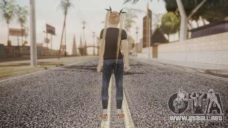 DoA 5 Ultimate - Marie Rose Punk para GTA San Andreas tercera pantalla