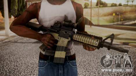 Rifle by catfromnesbox para GTA San Andreas tercera pantalla