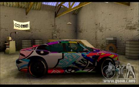 Bravado Buffalo Sticker Bom para GTA San Andreas left