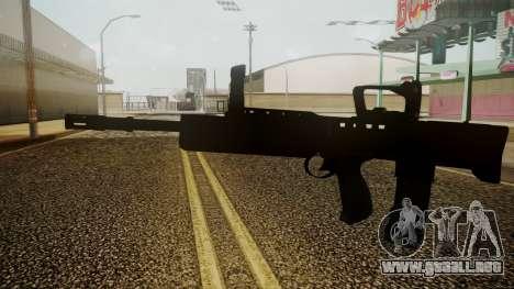L85A2 Battlefield 3 para GTA San Andreas segunda pantalla