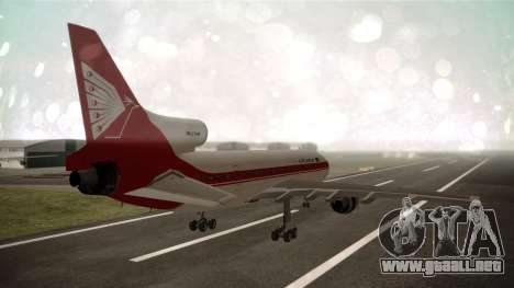 Lockheed L-1011 Air Lanka para GTA San Andreas left