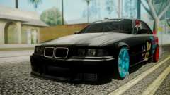 BMW M3 E36 Happy Drift Friends para GTA San Andreas