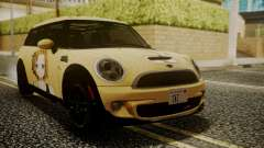 Mini Cooper Clubman 2011 K-ON Ritsu Itasha para GTA San Andreas