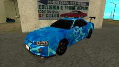 Nissan Skyline R34 Drift Blue Star para GTA San Andreas