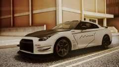 Nissan GT-R R35 2012 v2 para GTA San Andreas