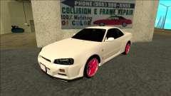 Nissan Skyline R34 Drift JDM para GTA San Andreas