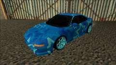 Toyota MR2 Drift Blue Star para GTA San Andreas