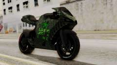 Bati Motorcycle Razer Gaming Edition