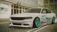 Dodge Charger RT 2015 Hatsune Miku para GTA San Andreas
