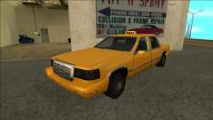 Stretch Sedan Taxi para GTA San Andreas