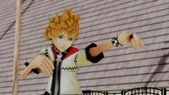 Kingdom Hearts 2 - Roxas Default para GTA San Andreas
