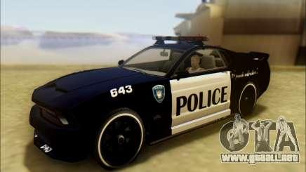 Insípidas, Dominador De Los Transformadores De Coche De Policía para GTA San Andreas