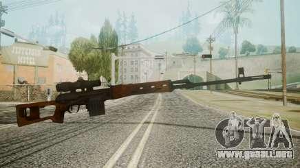 SVD Battlefield 3 para GTA San Andreas