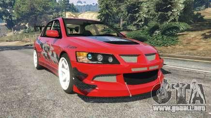 Mitsubishi Lancer Evolution IX FNF para GTA 5