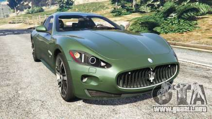 Maserati GranTurismo S 2010 para GTA 5