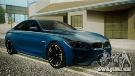 BMW M4 Coupe 2015 Brushed Aluminium para GTA San Andreas