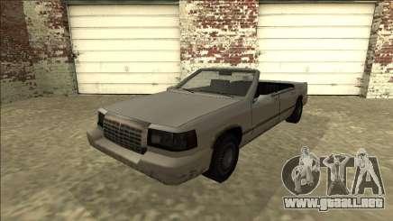 Stretch Sedan Cabrio para GTA San Andreas