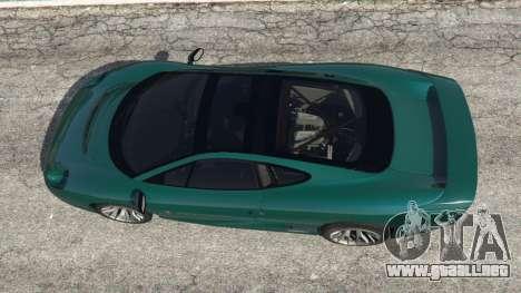 GTA 5 Jaguar XJ220 v0.8 vista trasera