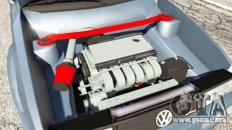 GTA 5 Volkswagen Corrado VR6 vista lateral trasera derecha