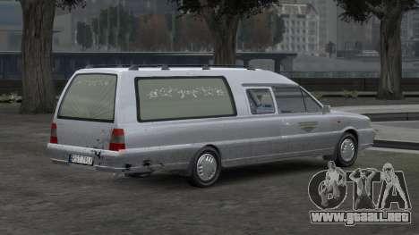 Daewoo-FSO Polonez Bella DC coche fúnebre de 199 para GTA 4 interior