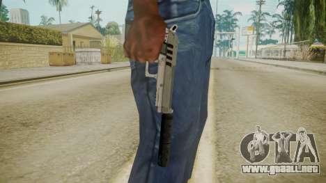 GTA 5 Silenced Pistol para GTA San Andreas tercera pantalla