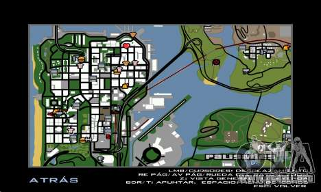 HD Radar Icons para GTA San Andreas tercera pantalla