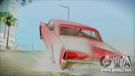 GTA 5 Vapid Chino Bobble Version IVF para GTA San Andreas left