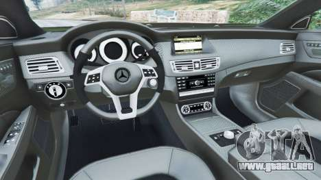GTA 5 Mercedes-Benz CLS 63 AMG v1.0 vista lateral derecha