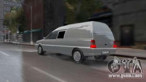 Daewoo-FSO Polonez Bella Blindados 2000 para GTA 4 vista desde abajo