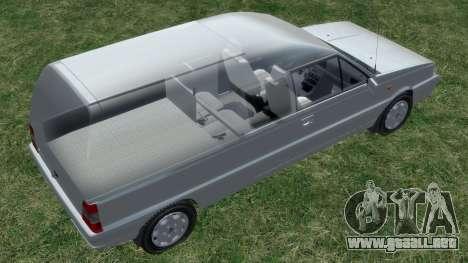 Daewoo-FSO Polonez Bella Blindados 2000 para GTA 4 ruedas