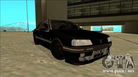 Peugeot 405 Drift para la visión correcta GTA San Andreas