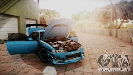 Nissan Silvia S14 Chargespeed Kantai Collection para visión interna GTA San Andreas