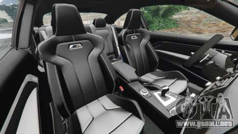 GTA 5 BMW M4 2015 vista lateral derecha