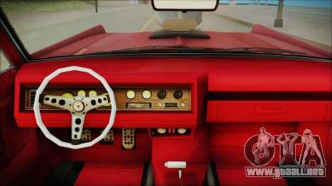 GTA 5 Vapid Chino Bobble Version IVF para la visión correcta GTA San Andreas