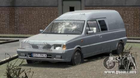 Daewoo-FSO Polonez Bella Blindados 2000 para GTA 4 interior