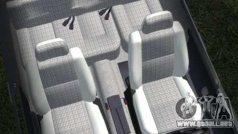 Daewoo-FSO Polonez Bella Blindados 2000 para GTA 4 vista lateral
