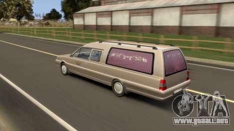 Daewoo-FSO Polonez Bella DC coche fúnebre de 199 para GTA 4 vista desde abajo
