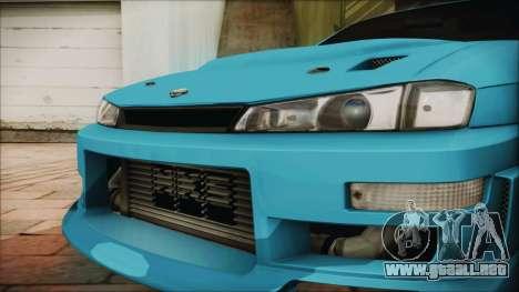 Nissan Silvia S14 Chargespeed Kantai Collection para la visión correcta GTA San Andreas