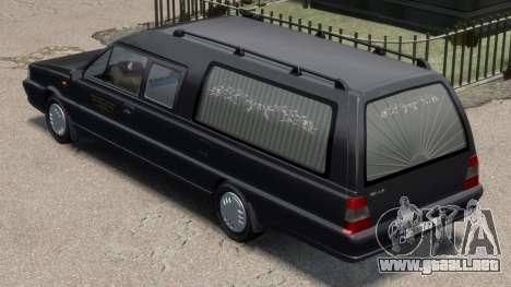 Daewoo-FSO Polonez Bella DC coche fúnebre de 199 para GTA 4 Vista posterior izquierda