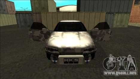 Nissan Skyline R32 Drift para GTA San Andreas