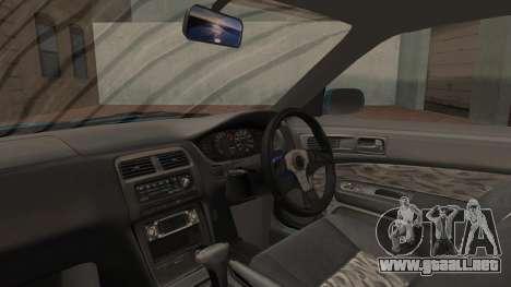 Nissan Silvia S14 Chargespeed Kantai Collection para GTA San Andreas vista hacia atrás