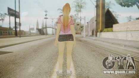 Kasumi DoA para GTA San Andreas tercera pantalla