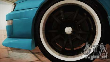 Nissan Silvia S14 Chargespeed Kantai Collection para GTA San Andreas vista posterior izquierda